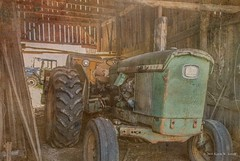 Pap's Workhorse (Back Road Photography (Kevin W. Jerrell)) Tags: old rural country textures nostalgic antiques tractors johndeere farmequipment countrylife oldstuff farmlife daysgoneby nikond60 backroadphotography