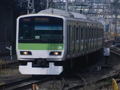 E231 (5) (Transrail) Tags: tokyo emu yamanoteline jreast e231 electricmultipleunit tokaidomainline eastjapanrailwaycompany kawasakiheavyindustries tokyucarcorporation