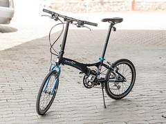 P1110131 (daniel kuhne) Tags: bike fast panasonic compact foldingbike dahon klapprad visc faltrad lumixgf1 olympus45mmf18
