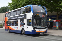 Stagecoach AD Enviro 400MMC 10479 SN65OBO - Stockport (dwb transport photos) Tags: bus stockport alexander dennis stagecoach enviro decker 10479 400mmc sn65obo