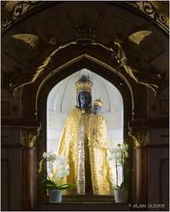 Vierge Noire du sanctuaire de Notre-Dame de Myans