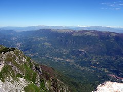 View north from the top of Pizzo Deta (markhorrell) Tags: walking lazio apennines montiernici