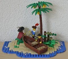 Making Plans (Beorthan) Tags: beach baker lego montoya cooke