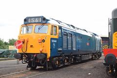 50 044 (Midland Red FanBoy) Tags: travel england train trains transportation severnvalleyrailway kidderminster class50 passengertrains severnvalleyrailwayspringdieselgala