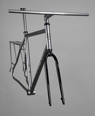 Firefly_Frame (Cycle Monkey USA) Tags: commuter biketowork titanium firefly dynamo rohloff bikelife rohloffspeedhub supercommuter