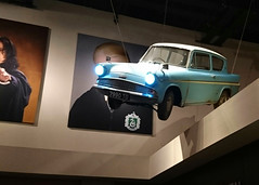 The Anglia in the foyer (Mr Exploding) Tags: harrypotter hertfordshire warnerbros jkrowling studiotour warnerbrosstudios leavesden warnerdrive themakingofharrypotter warnerbrosstudiotourlondon wd257lp