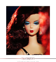 What's in the mirror (thitipatify) Tags: fashion magazine studio toy model glamour holidays doll dress quality g barbie hollywood gown royalty diorama integrity silkstone robertbest