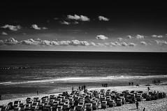 Beach (KJ Photographie) Tags: sea blackandwhite black beach nature strand landscape deutschland abend nikon meer fineart natur rgen landschaft ostsee schwarz binz schwarzweis