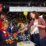 Families enjoy science demonstrations at State of the Sciences event