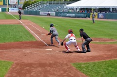 J.P. Crawford (jpellgen) Tags: ri travel usa sports field boston america spring nikon baseball stadium may redsox newengland sigma rhodeisland pawsox lehighvalley minorleague pawtucket 2016 mccoystadium triplea 1770mm ironpigs jpcrawford d7000