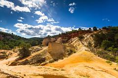 Les ocres de Rustrel: le Sahara Provenal-002 (bonacherajf) Tags: lubron rustrel ocres colorado provence