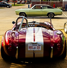 Auto Zone (momentspause) Tags: car automobile cobra texas houston canonef50mmf18 hotrod niftyfifty canon5dmkiii