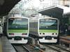 E231 (14) (Transrail) Tags: tokyo emu yamanoteline jreast e231 electricmultipleunit tokaidomainline eastjapanrailwaycompany kawasakiheavyindustries tokyucarcorporation