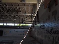 Hospital Gym Area (UHIN.UED) Tags: pictures urban newyork building history abandoned rotting beauty architecture hospital wonder fun photography virginia weird dc crazy dangerous general pennsylvania decay exploring maryland historic haunted medical illegal jersey rough dying left destroyed scarry urbex tuberculosis dierelect