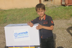 A displaced child in Shamamak, Erbil, Iraq (Ummah Welfare Trust) Tags: poverty children war islam iraq relief hunger muslims humanitarian kurdistan  welfare humanitarianism ummah