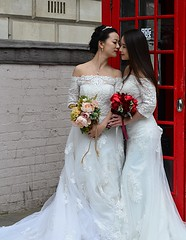 Together (pjpink) Tags: uk wedding england white london spring dress britain lace may parliamentsquare brides lacy 2016 pjpink