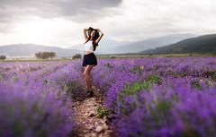 Alex (Vilian Raychev) Tags: nature model purple bokeh sony 85mm sigma bulgaria retouch boke 85 a7 ea3 a7ii levender laea3