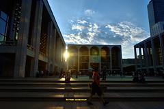 Lincoln Center Sunspots (Eddie C3) Tags: newyorkcity sun manhattan upperwestside lincolncenter lincolncenterplaza