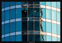 Devil Eyes (Ilan Shacham) Tags: windows light abstract reflection building face architecture modern israel telaviv eyes fineart minimalism fineartphotography ramatgan