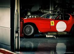 Ferrari 246 S Dino (@turnfive | brianwalshphotos.com) Tags: red classic canon media f1 ferrari racing silverstone april launch motorsport 246 2016 silverstoneclassic