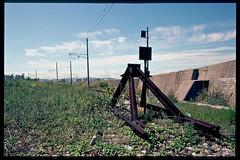 old trains_34 the terminal (1996) (osho9891742) Tags: railroad film japan train 1996 85mm jr terminal aomori deadend 青森 nikonf4 東北本線 tohokuline 終着点 デッドエンド