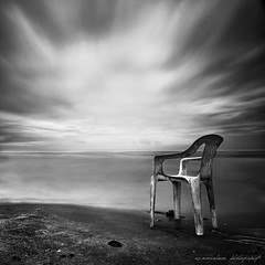 time to rest... (sirman88) Tags: longexposure sky bw seascape outdoors interestingness nikon malaysia pantai 2012 selangor calmness waterscape baganlalang d90 hitamputih cloudmotion tokina1116 azmanrahman sirman88