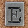 Pewter Ransom Font E (Leo Reynolds) Tags: canon eos iso100 e letter 60mm f8 oneletter eee letterset 0ev 025sec 40d hpexif grouponeletter letterpewter letterpewterransom xsquarex xleol30x xratio1x1x xxx2012xxx