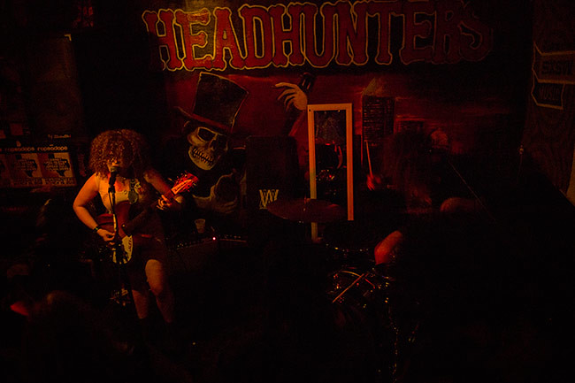 White Mystery at Headhunters (SXSW)