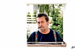 Funny portrait _ My dad (Riccardo Brig Casarico) Tags: portrait people portraits wow photography photo nikon funny foto smoke details persone dettagli fotografia nikkor alto ritratti divertenti brig altoadige 18105 adige riki d5100 brigrc