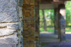 All our troubles will be just like us (kmanl3y) Tags: park nature field stone architecture photography dof pillar katherine ground foundation pillars depth manley kmanley