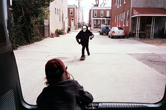 (Jacob Seaton) Tags: camera skeleton skull drive driving skateboarding skateboard van 8mm super8 musicvideo rapture grimreaper tylerdavis naomidavidoff usandusonly