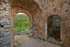 Rocchettine Castle - Rocchette, Italy (Walter Arnold Photography) Tags: old travel walter italy castle abandoned photography high ruins dynamic arnold ruin medieval abandon range hdr hdri rocchette walterarnold rocchettine wwwthedigitalmiragecom