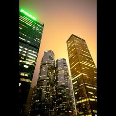 (A n t h o n y D. A r c h e r) Tags: longexposure night hongkong skyscrapers bankofchinatower lippocentre admiralty