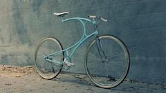 artbike (redshutter) Tags: art bike vintage steel single bianchi celeste roadie