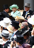 Queen Elizabeth II and Prince Phillip, Duke of Edinburgh Royal Ascot at Ascot Racecourse - Ladies Day, Day 3 Berkshire, England