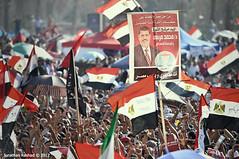 Celebrations as Muslim Brotherhood's Mohamed Morsi announced Egypt's president (Jonathan Rashad) Tags: square photography election jonathan muslim egypt photojournalism cairo revolution egyptian elections brotherhood mb journalism uprising 2012 mubarak tahrir rashad scaf morsi