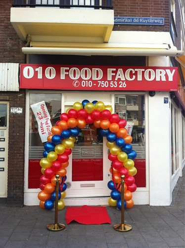 Ballonboog 5m 010 Foodfactory Rotterdam