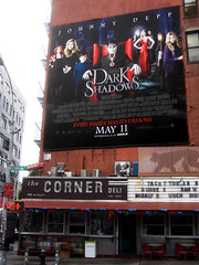 Dark Shadows Movie Poster Above The Corner Deli NYC 6579 (Brechtbug) Tags: from street new york city nyc film dan television fashion monster by corner vintage dark movie poster 1971 tv soap 60s opera shadows action jonathan vampire gothic broadway diner 1966 dracula billboard created masks figure johnny deli 70s undead monsters 1970 depp collins vampires barnabas episode curtis 2012 frid vampyr 1960 delis 36th standee collinsport 06262012