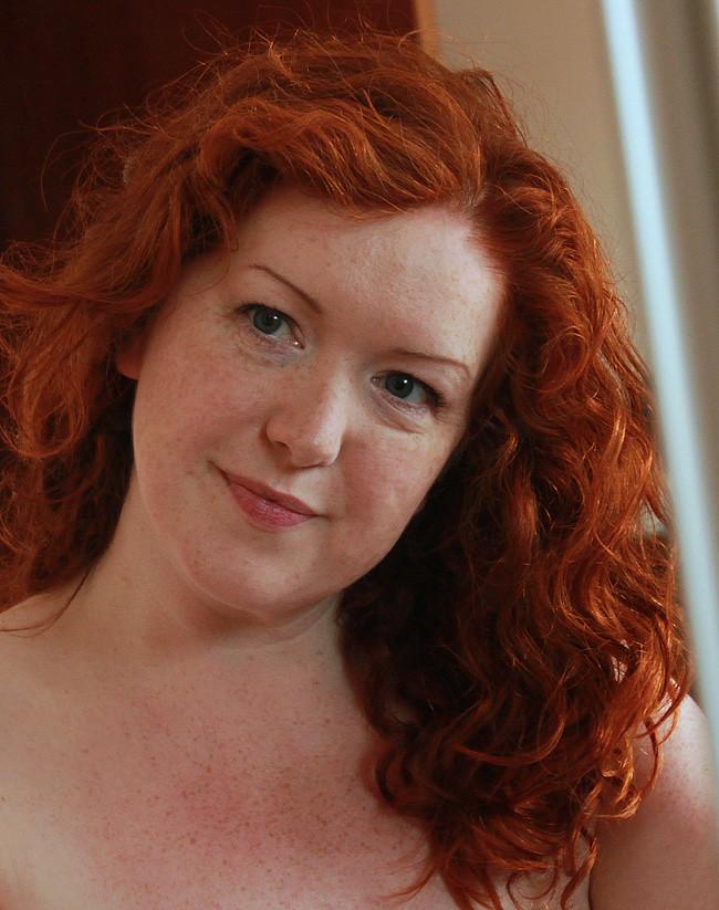 Redheaded bbw