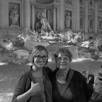 "Claudia and Mom at Trevi Fountain <a style=""margin-left:10px; font-size:0.8em;"" href=""http://www.flickr.com/photos/14315427@N00/7502220720/"" target=""_blank"">@flickr</a>"