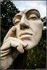 Deep Thought (Richo_I) Tags: ceredigion sculptures sonya700 rhydlewis sculptureheaven newquaycameraclub