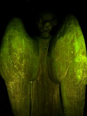 """You Got Wings Angel - Use Them!"" (spratpics) Tags: england green graveyard angel night spooky teesside northeastengland spookymagic landofthethreerivers teesvalleyengland artworkbypaulwalker spookyartworkandphotographybypaulwalker yougotwingsusethem yougotwingsangelusethem"