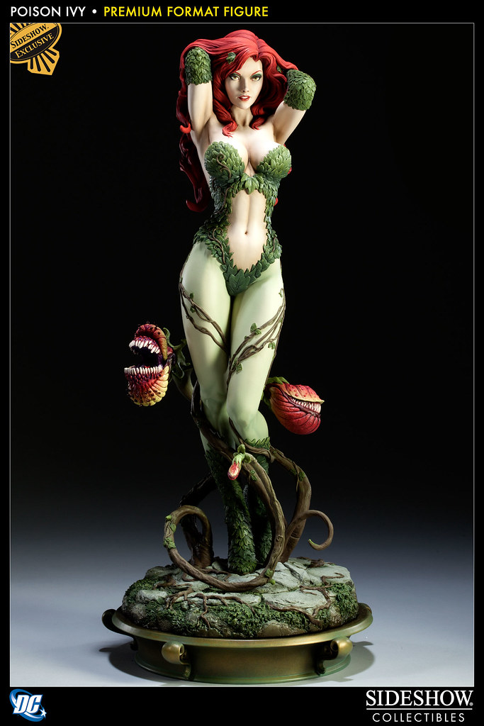 Sideshow - Poison Ivy 毒藤女1:4 雕像