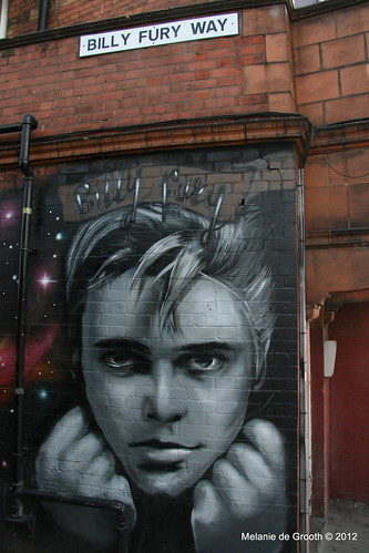 Billy Fury Wall Mural