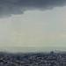En attendant le feu d'artifice du 14 juillet 2012 depuis la terrasse de la Tour Montparnasse à Paris