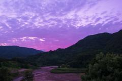 Sunset (Shin-Okamoto) Tags: nikon unesco 24mm afs d800 十和田湖 奥入瀬渓流 shirakami 白神山地 f14g 十二湖