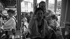 Scramble (Grif Batenhorst) Tags: red woman white cute guy bunny beer girl sign japan bar club japanese tokyo day peace crossing cigarette military smoke shibuya ears bull alcohol kawaii marlboro vodka gaijin mid redbull scramble foreigner