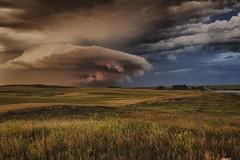 cloud with clouds (journey ej) Tags: northdakotathunderstorms yextnorthdakota