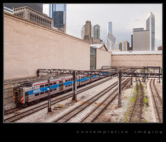 Metra Electric : outbound (contemplative imaging) Tags: summer usa chicago hot history field skyline museum digital america train photography photo illinois coach midwest downtown track day natural image photos transport tracks july windy trains images tourist il ill transportation commuter imaging theloop thursday coaches artinstitute southshore nictd attraction 43 2012 aic southbend partlycloudy 3x4 midwestern cssb olye600 contemplativeimaging ronzack 20120705 cichi20120705e600