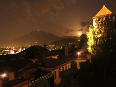 IMG_6328 (mrgeebee) Tags: city moon mountain tower wall night clouds canon dark schweiz switzerland shot nightshot swiss luzern powershot pilatus moonrise lucerne moonset lucerna ch citywall canonpowershot lozrn s95 canonpowershots95 powershots95 lozarn